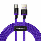 Baseus USB Type C Cable FAST Charge QC3.0 USB-C Charging Phone Data Cable 5A 40W