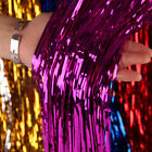 Metallic Tinsel Curtain Foil Wedding Birthday Party Decoration Foil Fringe Party