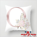 New UK LETTER POLYESTER CUSHION COVER PILLOW CASE WAIST THROW HOME SOFA DECOR