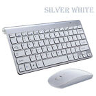 2.4G Wireless Mouse&Keyboard 3D Optical  Mice USB Adapter For Pc MacBook Laptop