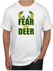 FEAR THE DEER T-Shirt - Milwaukee Bucks NBA Uniform Jersey Giannis on eBay