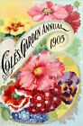 Coles Garden Flowers Seed Packet Quilt Block Multi Szs FrEE ShiP WoRld WiDE 234B