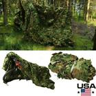 3X5M Hunting Camping Military Camouflage Net Woodland Camo Netting Cover New