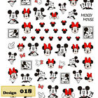 [US Dollar.disney .etc]Nail Stickers 3D_Nail Art_Manicure Tips_Decals Decoration