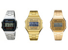 Casio Classic Digital Quartz Alarm Calendar Stainless Steel Unisex Watch-A168W