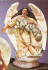 Ready to paint Ceramic Bisque Indian Maiden Angels w Different Animals image
