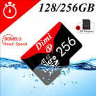 128GB 256GB Micro SD HC Class 10 TF Flash SD Memory Card for Phone Tablet