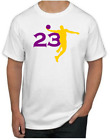LeBron James T-Shirt - SUPERSTAR Los Angeles Lakers NBA Uniform Jersey #23 on eBay