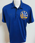 NEW Sz L Royal Blue Under Armour NBA MENS db Polyester #37F Golf Polo Shirt on eBay
