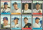 2013 Topps Heritage High Number Complete Team Set Rookie Card Logo RC No VAR/SP