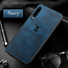 For Xiaomi Mi 9 SE 8 Lite 9T Hybrid Silicone Deer Cloth Case Shockproof Cover