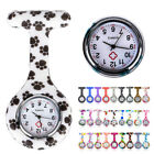 Pocket Watch Silicone Pendant Round Accessories Vintage Hanging Luminous Clip on