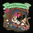 TDR Mickey Minnie 20,000 Leagues Under the Sea Octopus Disney Pin