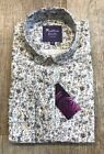 New Womens Liberty Print Forget-Me-Not Shirt LIMITED EDITION By Saffron Finch.