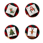 Christmas Cute Paper Stickers Bakery Accessories Decoration Labels Supplies Hy