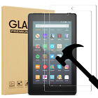 "2 Pack Tempered Screen Protector For Amazon Kindle fire 7""/ HD 8""/ HD 10"" Tablet"