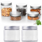 10PCS 50ml-250ml Empty Cosmetic Pots Lip Balm Container Jar Aluminum Tins M E8B8