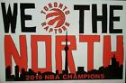 "TORONTO RAPTORS ""WE THE NORTH"" CHAMPIONSHIP DECAL on eBay"