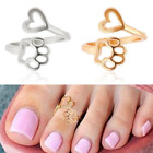 1PC Adjustable Retro Toe Ring Jewelry Silver Fashion Open Finger Foot Rings image