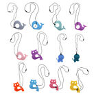 Cute Safe Silicone Animal Shape Ring Baby Teether Teething Toy Shower Gift