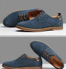 2019 Suede European style leather Shoes Men's oxfords Casual Multi Size Fashion