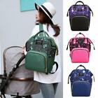 Star Sky Print Mommy Maternity Backpacks Nylon Nursing Baby Diaper Nappy Bags
