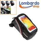 BORSA BICI CUSTODIA CELLULARE PER SAMSUNG IPHONE MP3 IPOD SUPPORTO BICICLETTA