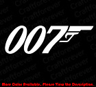 JAMES BOND 007 Spy Car Window/laptop/Phone Vinyl Die Cut Decal UK MI JB001 $6.99 USD on eBay