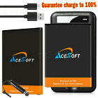 2x 4520mAh Extended Slim Battery Travel Charger Type-C Cable for LG V20 BL-44E1F