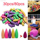 6C26 Fragrance Backflow Incense Yoga Cones Shape Tower Incense Desktop