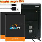 4670mAh Extended Slim Battery or AC Charger for LG Stylo 3/Stylo 3 Plus BL-44E1F