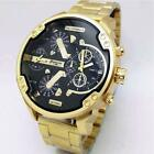 Relogio Dourado Masculino Men Watch Luxury Fashion Gold Analog Quartz Wristwatch image