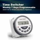Programmable Digital Timer Switch Relay Control Weekly Days Electric Appliance photo