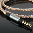 7N 8core 3.5mm OCC Upgrade Audio Cable For Audio Technica ATH-MSR7SE MSR7NC