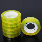 12Rolls 12mm*30m Clear Transparent Tape Sealing Packing Stationery Office S E8L3