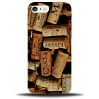 Wine Corks Background Phone Case Cover Mobile Bottle Tops Cork Gift Drinker D811