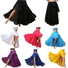 Chiffon Fairy Belly Dance Skirt Large Swing Skirts Belly Dancing Practice Skirt