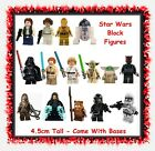 Star Wars block mini figures - space sci-fi movie toys cake toppers dolls $4.99 AUD on eBay