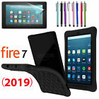 "For Amazon Kindle Fire 7"" Tablet 9th Generation 2019 Shockproof Gel Rubber Case"