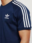 Adidas Originals Mens California Retro T Shirt Crew Neck Trefoil Short Sleeve <br/> 100% Satisfaction Guarantee - FAST DELIVERY - UK SELLER