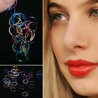 20Pc Mini Surgical Steel Nose Ring Lip Hoop Stud Gauge Body Piercing Jewelry Lot image