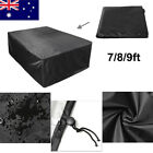 Pool Snooker Billiard Table Cover Polyester Waterproof Fabric 3 Size ! $36.99 AUD on eBay