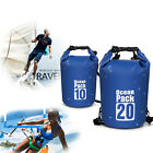Floating Waterproof Dry Bag 10L/20L - for Kayaking, Rafting, Boating, Swimming