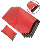 Strong Red Mailing Bags Poly Parcel Postal Shipping Mail Peel & Seal Envelopes