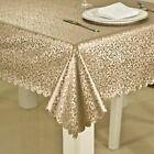 Table Cloth Waterproof Anti-hot Printed Tablecloth Rectangular Round Cover New