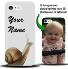 Personalised Snail Phone Case Cover Bug Snails Shell French Picture Gift X918