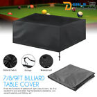7/8/9ft Outdoor Pool Snooker Billiard Table Cover Polyester Waterproof Dust Cap $40.99 AUD on eBay
