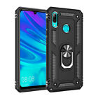 For Huawei P Smart Z 2019 Magnetic Ring Holder Case Shockproof Armor Stand Cover