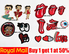 Betty Boop Red Tongue Mouth Eye Patches Badges Iron On Sew On £2.48 GBP on eBay