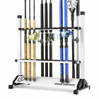 "Внешний вид - ""SAVIOR"" Fishing Rod Rack Floor Stand Garage Pole Holder Home Display Organizer"